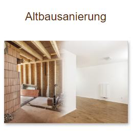 Altbaurenovierung für 69436 Schönbrunn