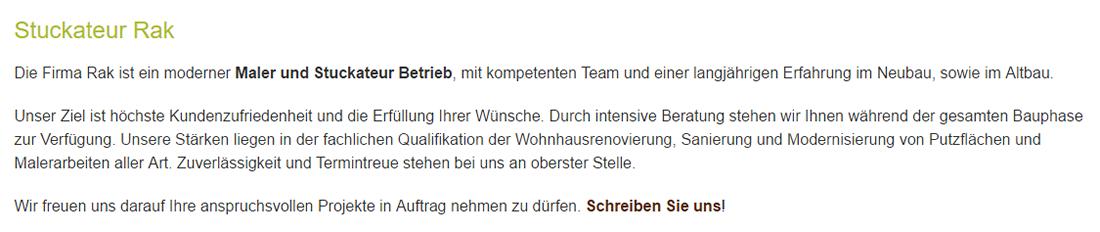 Stuckateur aus 75050 Gemmingen - Schomberg, Streichenberg oder Stebbach